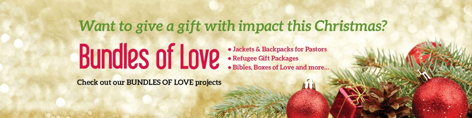 Christmas gifts national church planters encourage evangelism