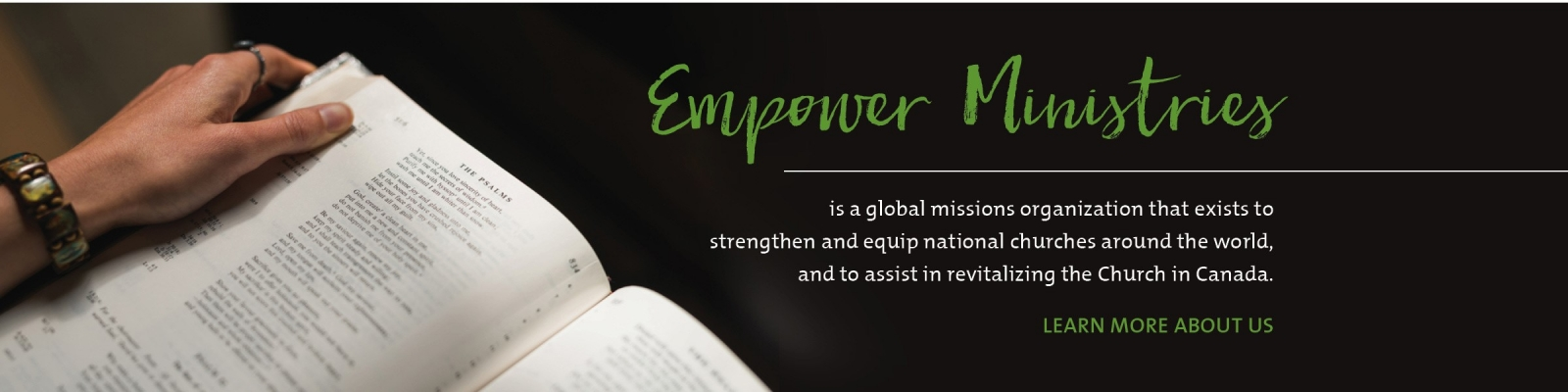 What is Empower Ministries? outreach mission vision